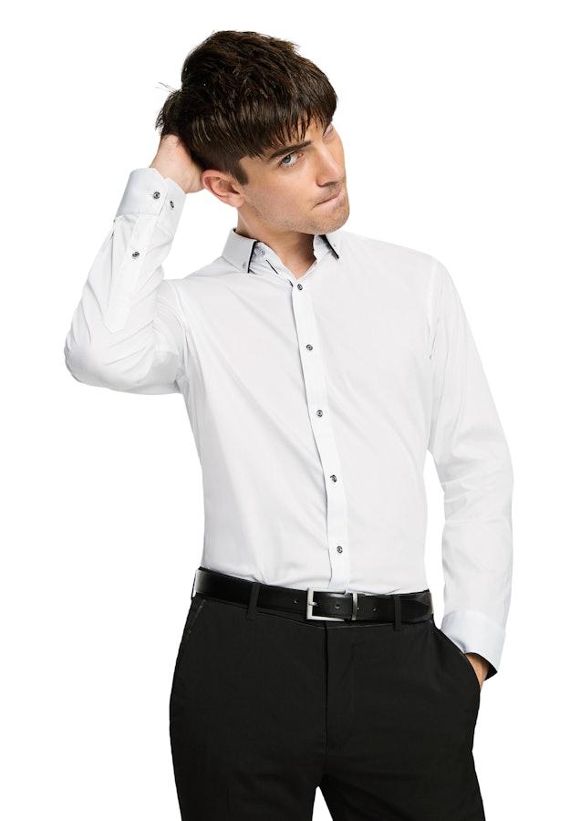 yd male yd whistler slim fit dress shirt white l
