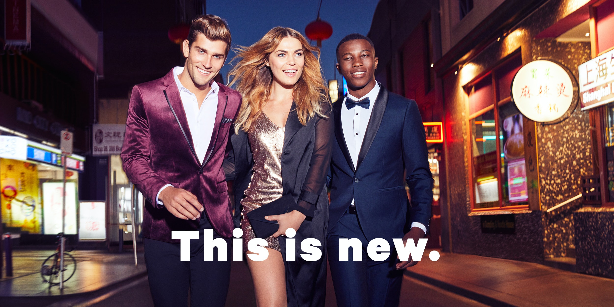 This is New: the yd. latest mens clothing collection campaign