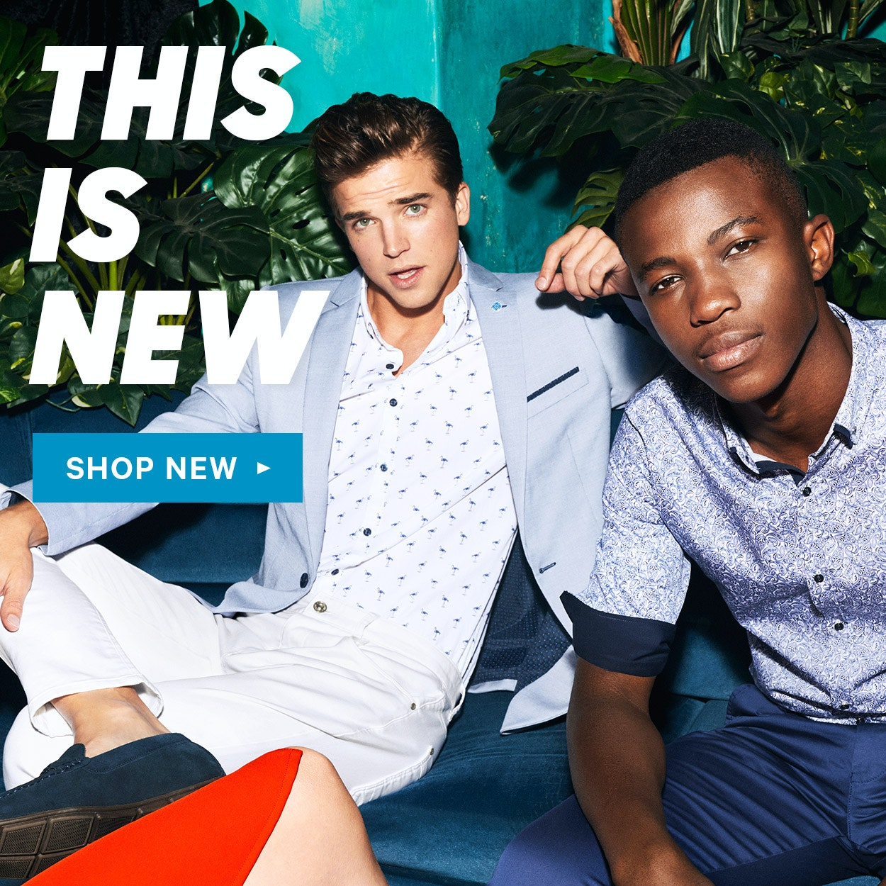 New Arrivals: check out the latest Spring men's clothing range from yd