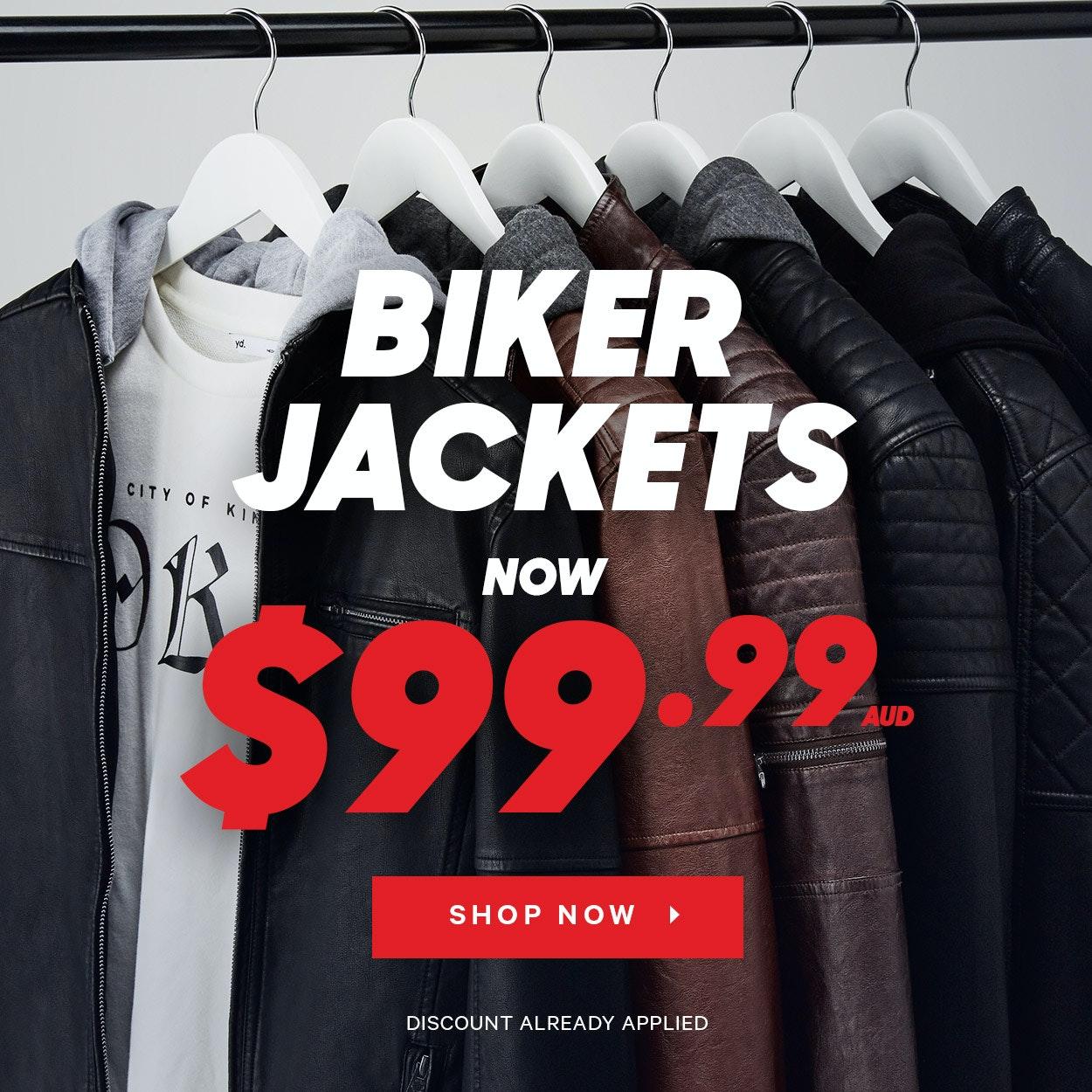 Sale Biker Jackets