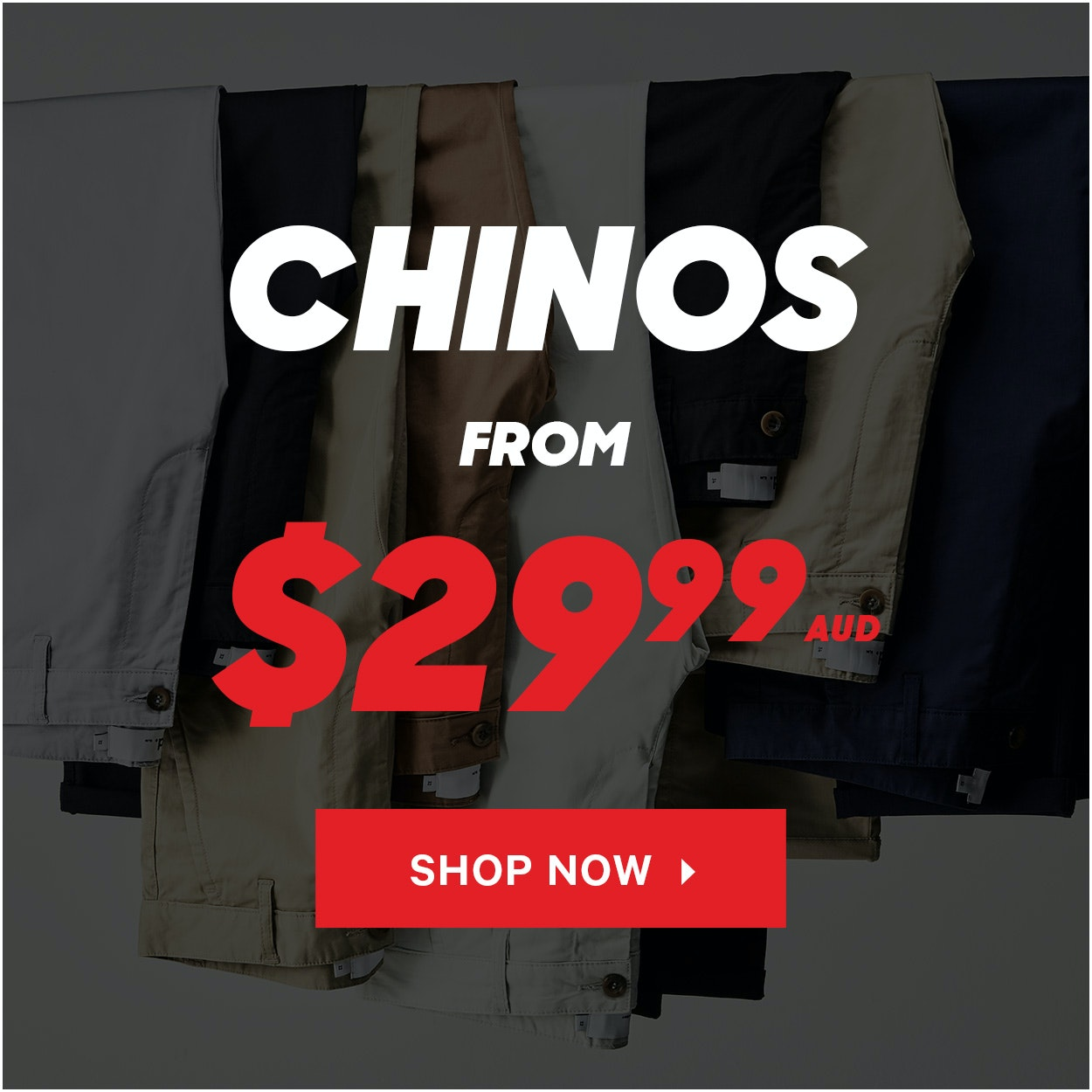 Winter Sale Chinos