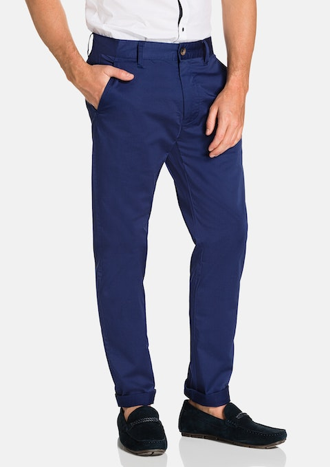 Bright Blue Darval Chinos