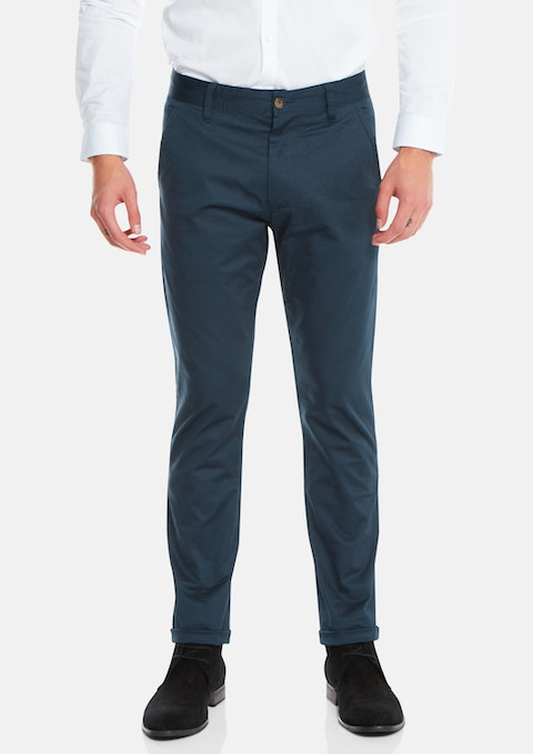 Teal Darval Chinos