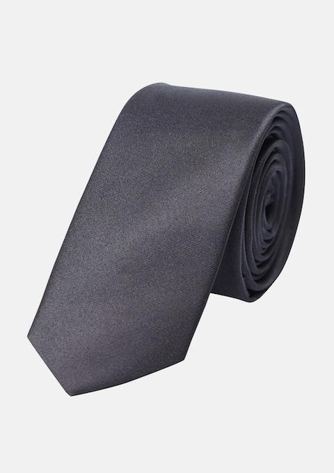 Black 5cm Tie