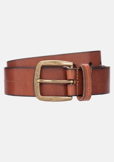 Tan Ethan Casual Belt