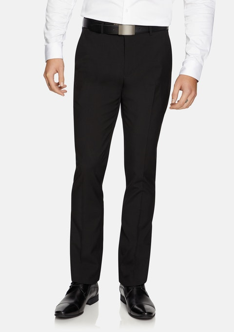 Black Cahn Skinny Dress Pant