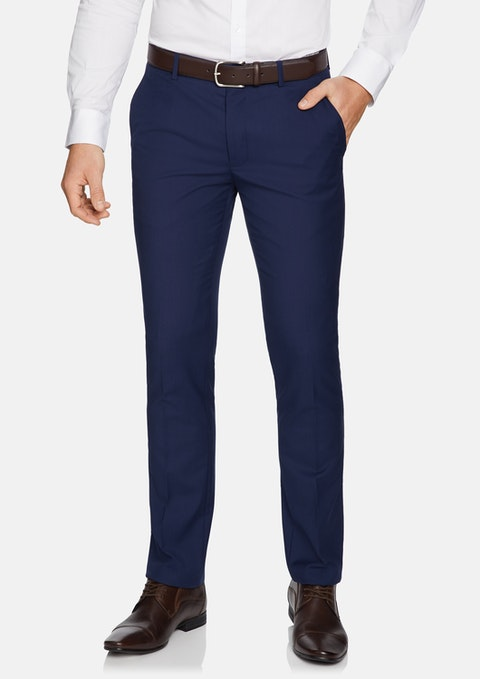 Blue Cahn Skinny Dress Pants