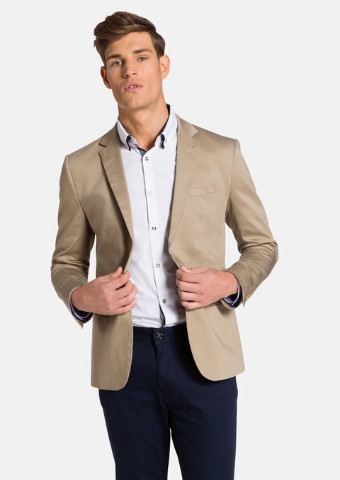 Camel Academy Dress Jacket