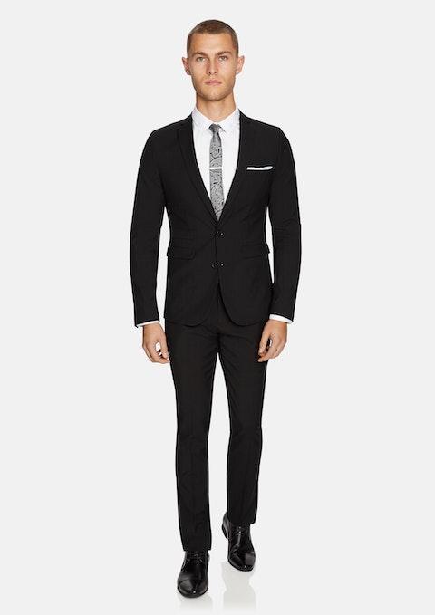 Black Cahn Skinny Suit