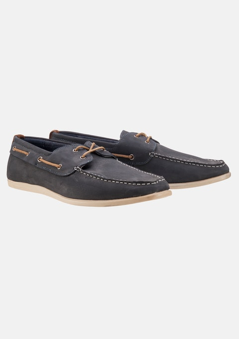 Navy Navy Deck Casual Shoe