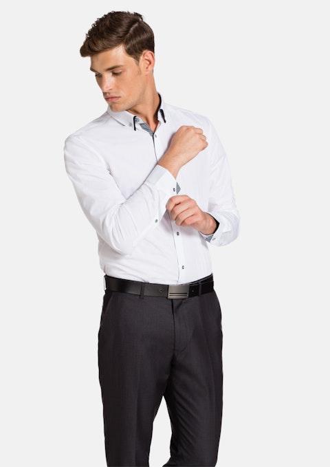 White Ari Slim Fit Shirt
