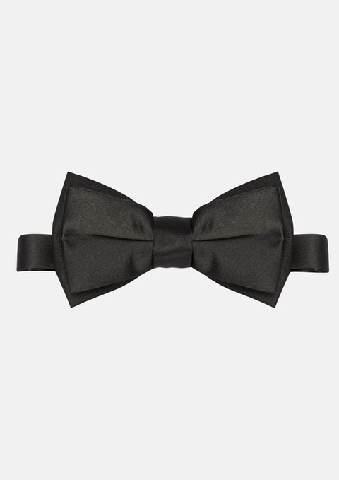 Black College Bow Tie