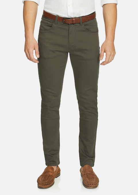New Khaki Nicol Chinos