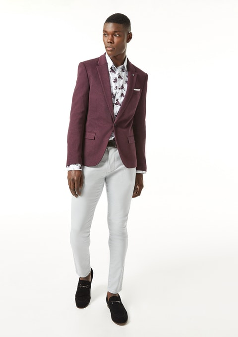 Ice Grey Nicol Chinos