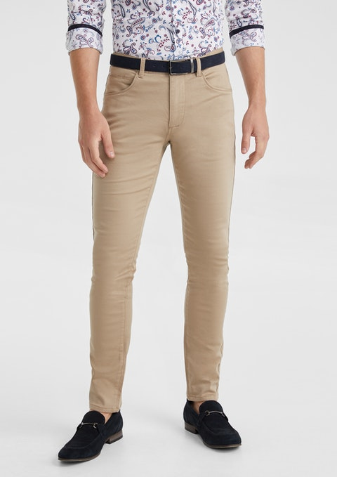 Tan Nicol Chino Pant