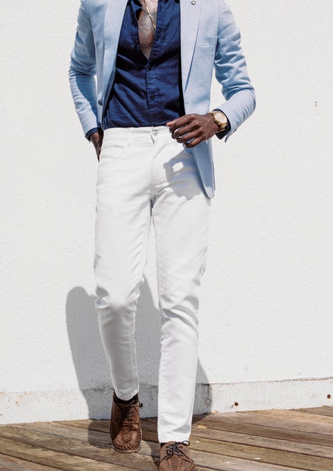 White Nicol Chino Pant