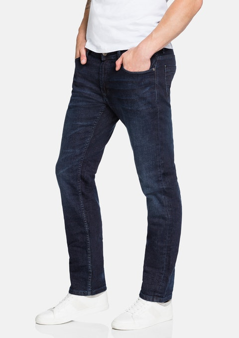 Dark Blue Loxton Slim Jean