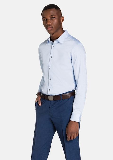 Light Blue Beny Slim Fit Dress Shirt