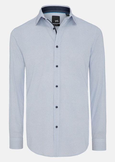 White Dustin Slim Fit Shirt