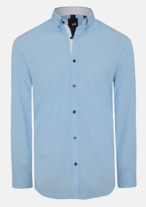 Blue Monroe Slim Fit Shirt