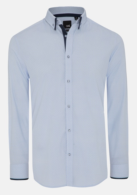 Light Blue Joffrey Slim Fit Shirt