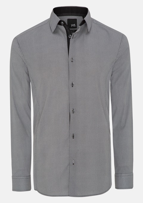 Black Questa Slim Fit Shirt