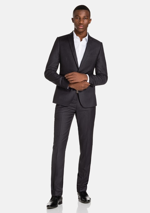 Charcoal Vermont Skinny Suit