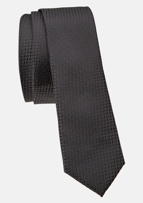 Black Hugo 5cm Tie
