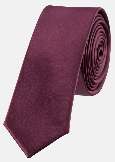 Burgundy Aton 5cm Tie