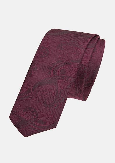 Burgundy Cordova 5cm Tie