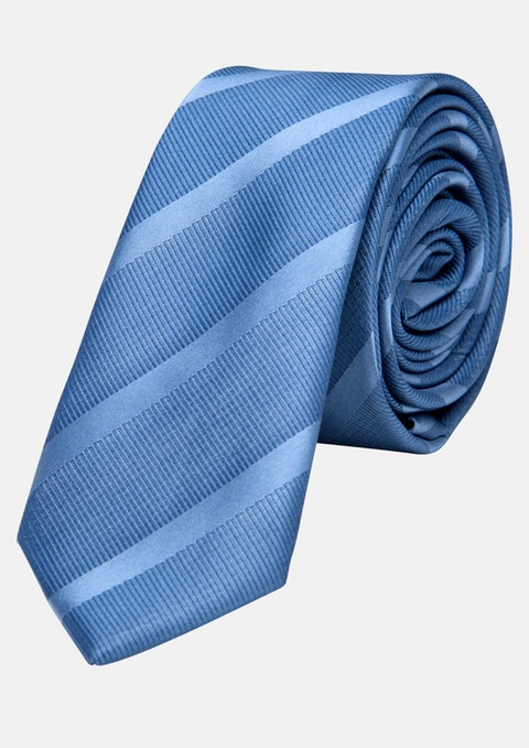 Light Blue Trilogy 5cm Tie