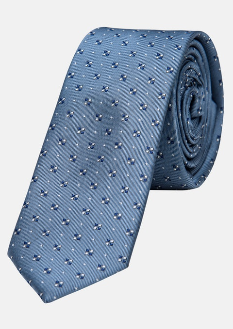 Light Blue Romano 5cm Tie