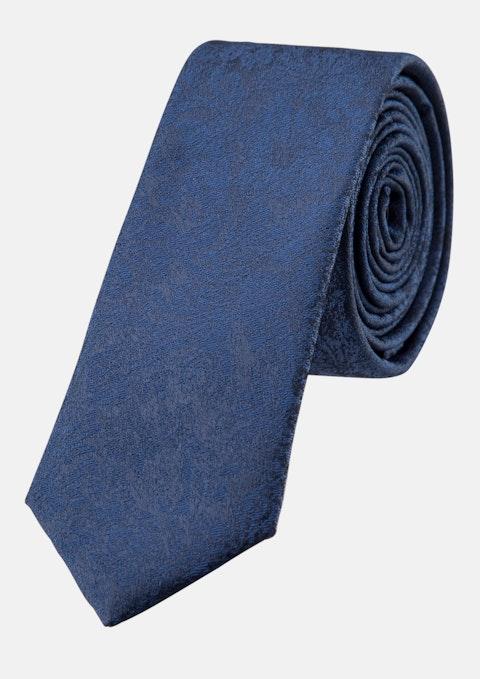 Navy Floral Dmini  5cm Tie