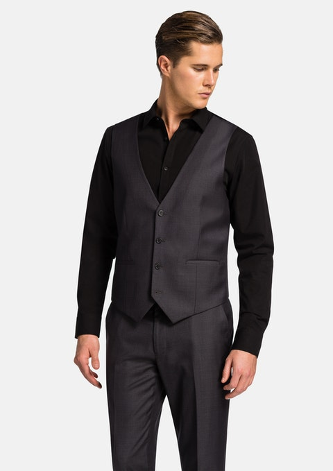 Charcoal Vermont Waistcoat
