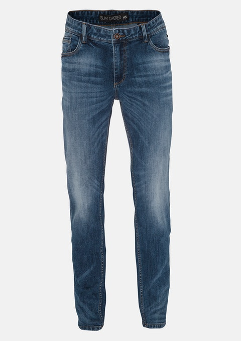 Blue Roh Slim Tapered Jean