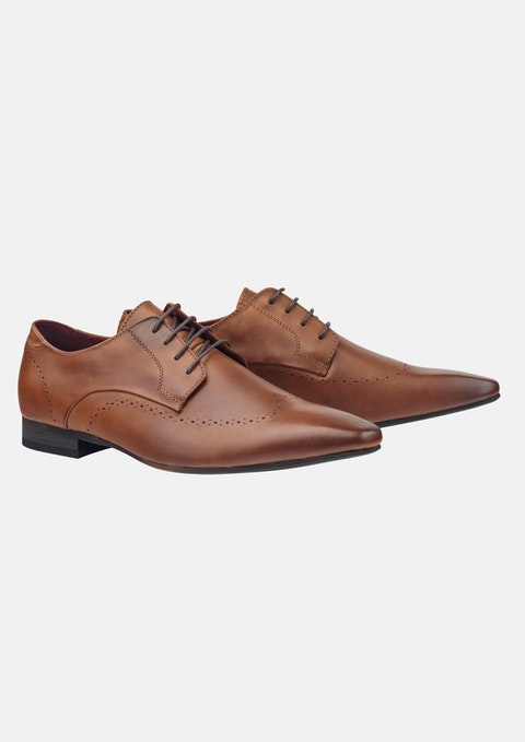 Tan Buster Dress Shoe