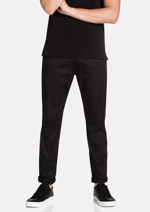 Black New Darval Chino