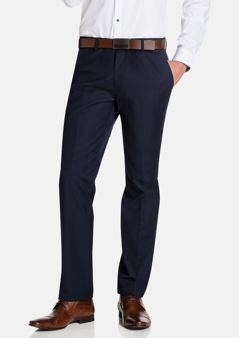 Navy Sinatra Slim Dress Pant