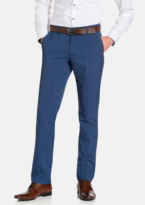 Blue Wootton Skinny Dress Pant