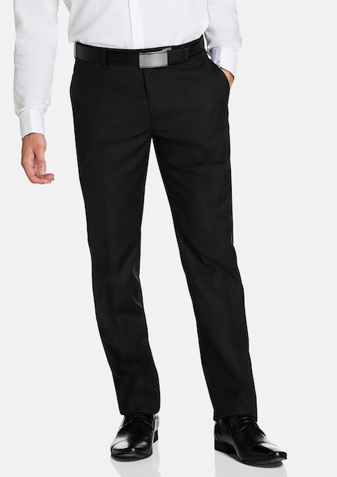 Black Cahn Slim Dress Pant