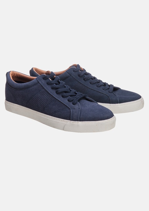 Navy Joey Casual Shoe