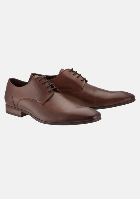 Brown Slider Dress Shoe