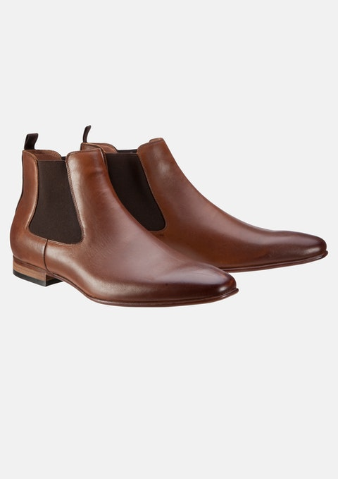 Tan Downtown Chelsea Boot