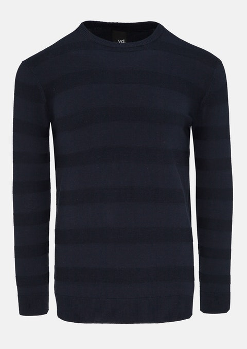 Navy Costello Knit