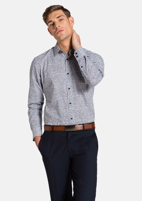 Sky Edgar Slim Fit Dress Shirt