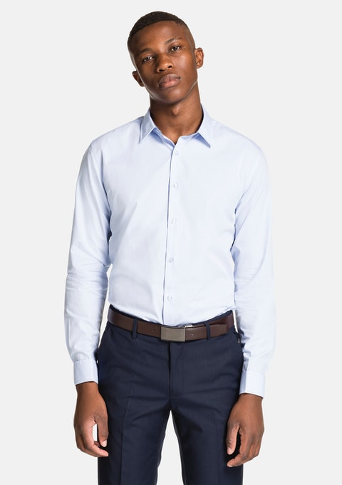 Sky Lorenzo Slim Fit Dress Shirt