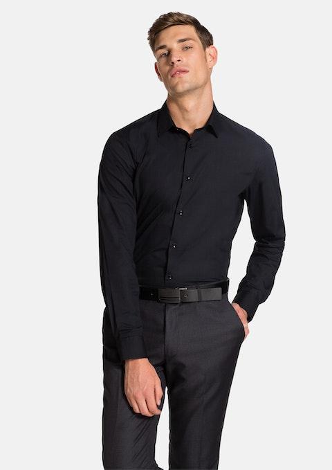 Black Langley Slim Fit Shirt