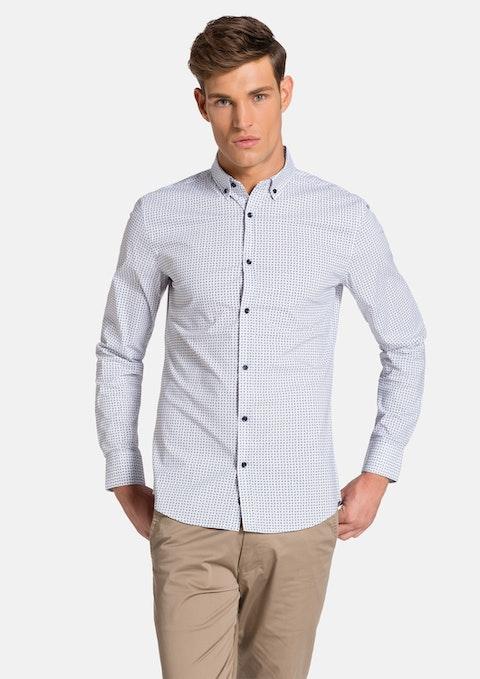 White/sky Fremont Slim Fit Shirt