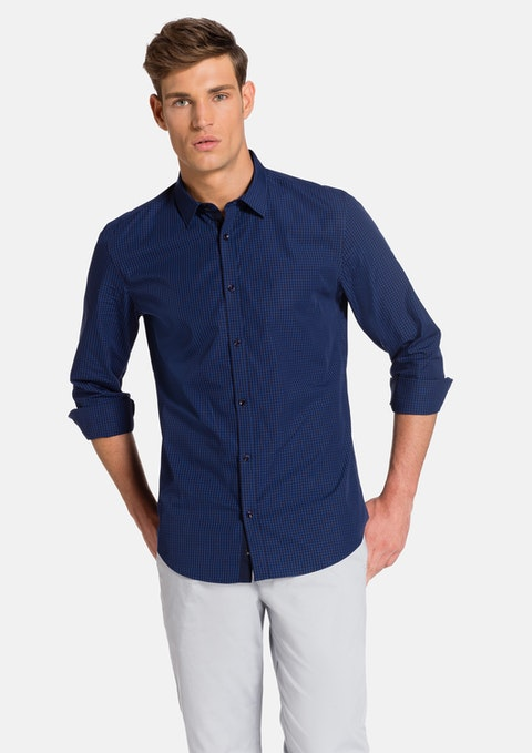Blue Kyre Slim Fit Shirt