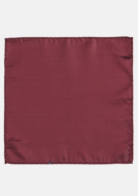 Wine Staple Textured Pocket Square